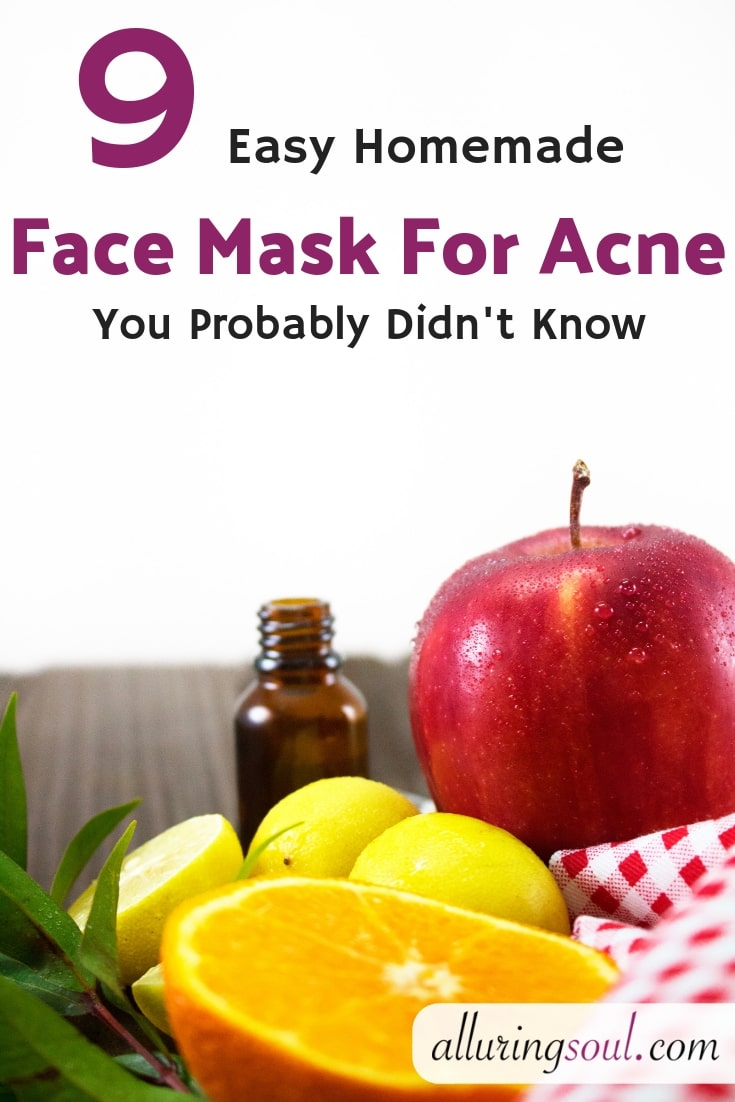 9 Easy Homemade Face Mask For Acne You