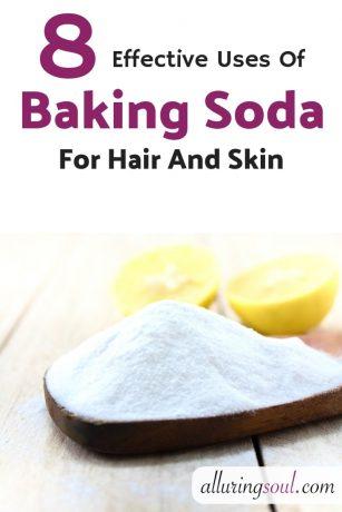 Baking soda for face