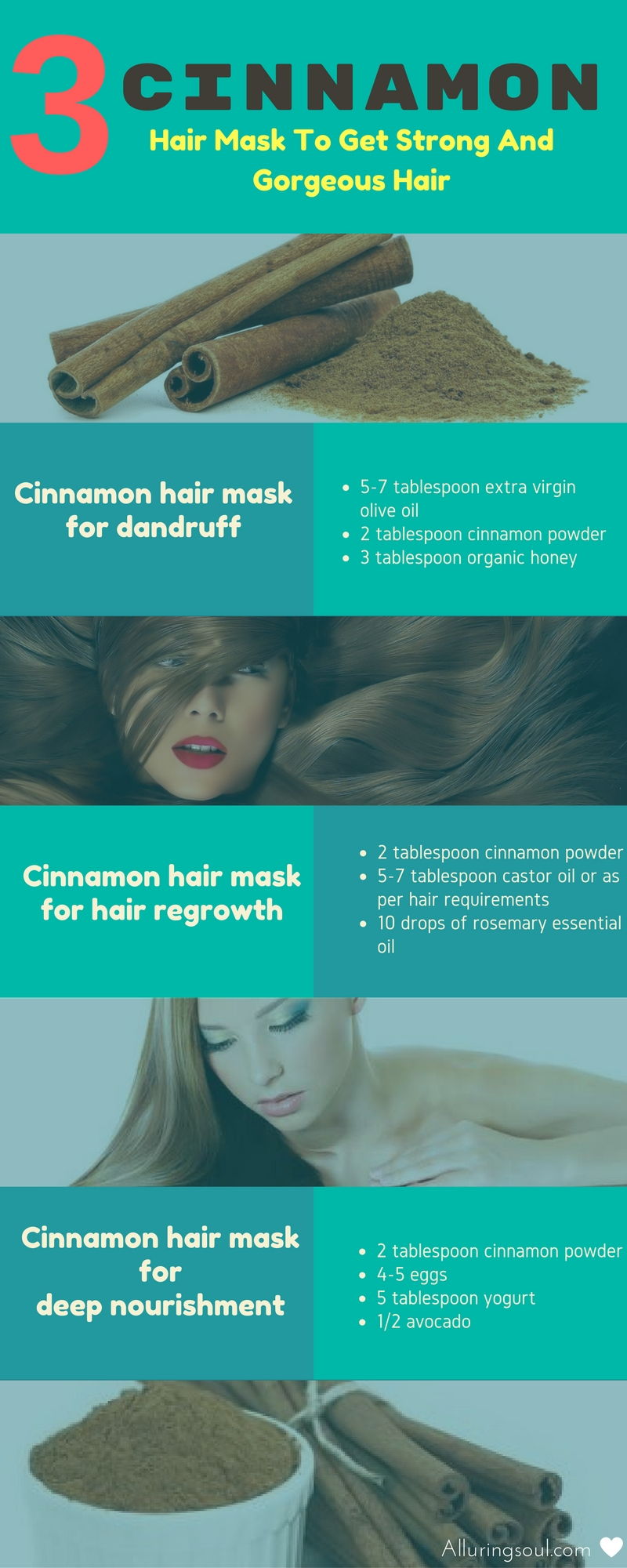 cinnamon hair mask