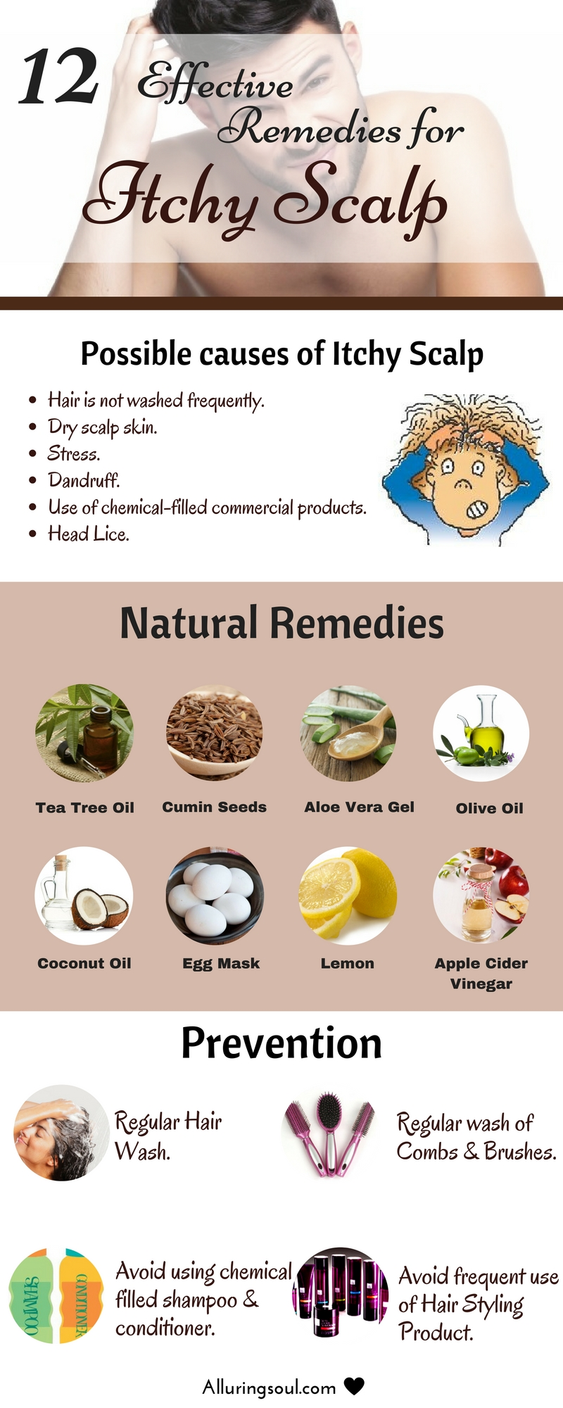 Remedies for itchy scalp