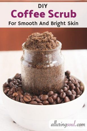 Coffee Scrub for smooth and Bright Skin