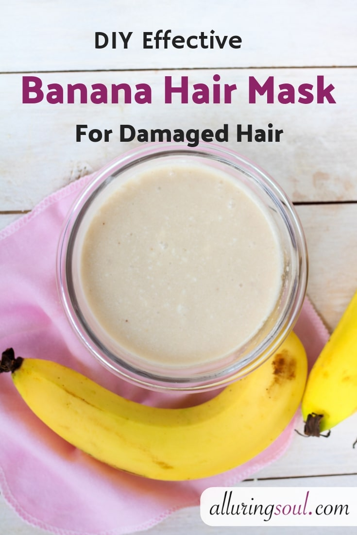 banana hair mask
