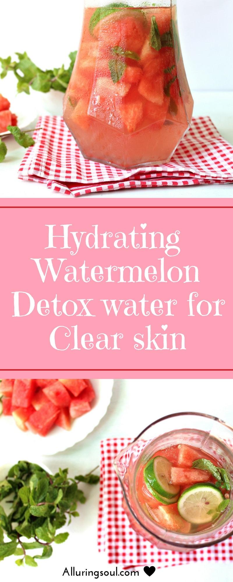 watermelon detox water