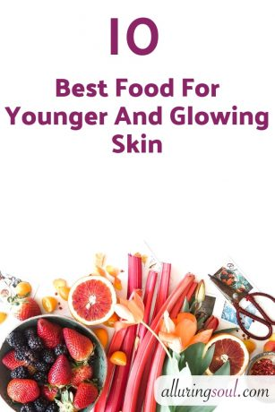 food for younger and glowing skin