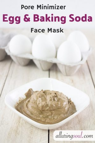 pore minimizer egg face mask