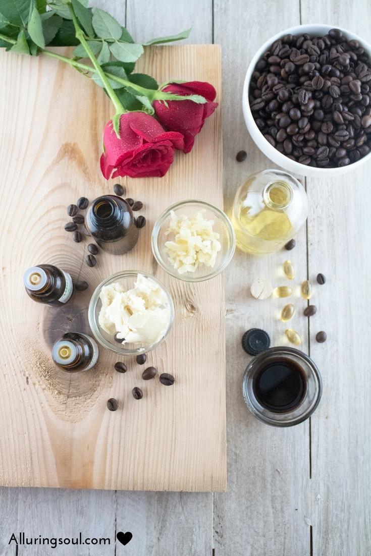 coffee and frankincense under eye cream