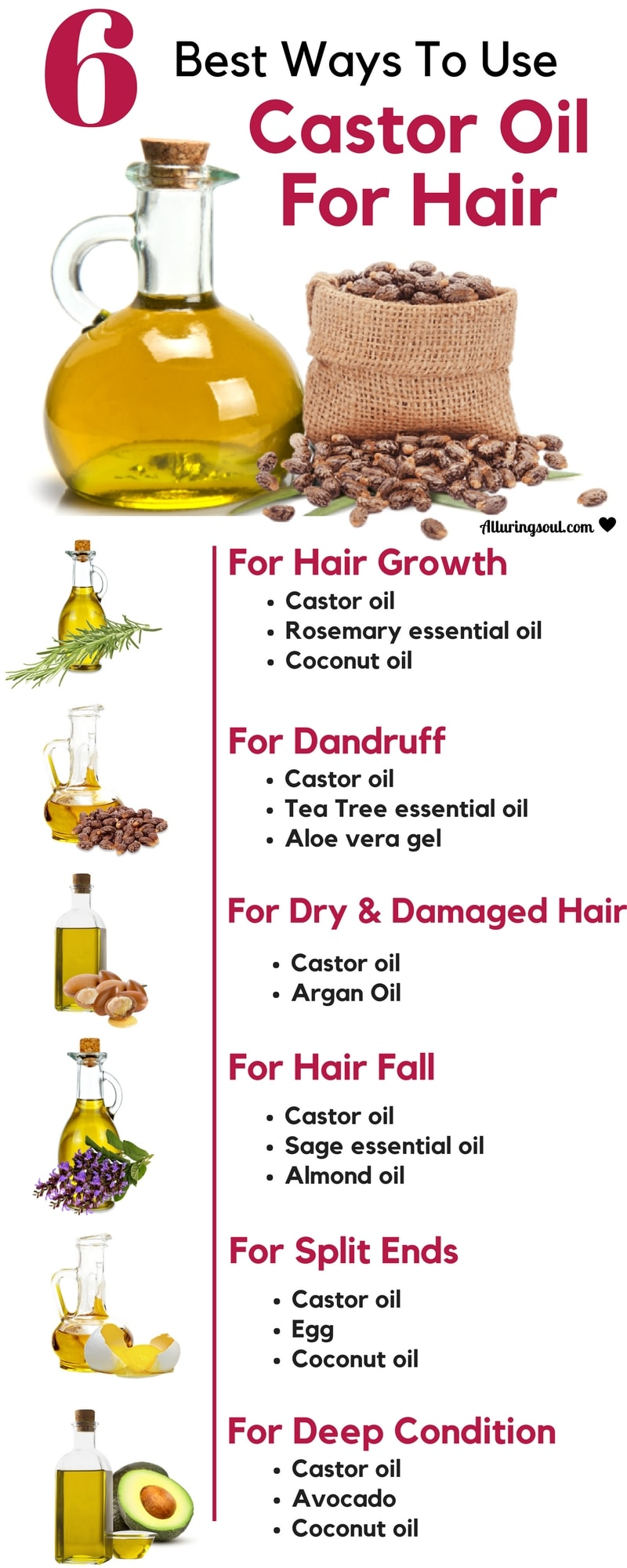 castor oil for hair