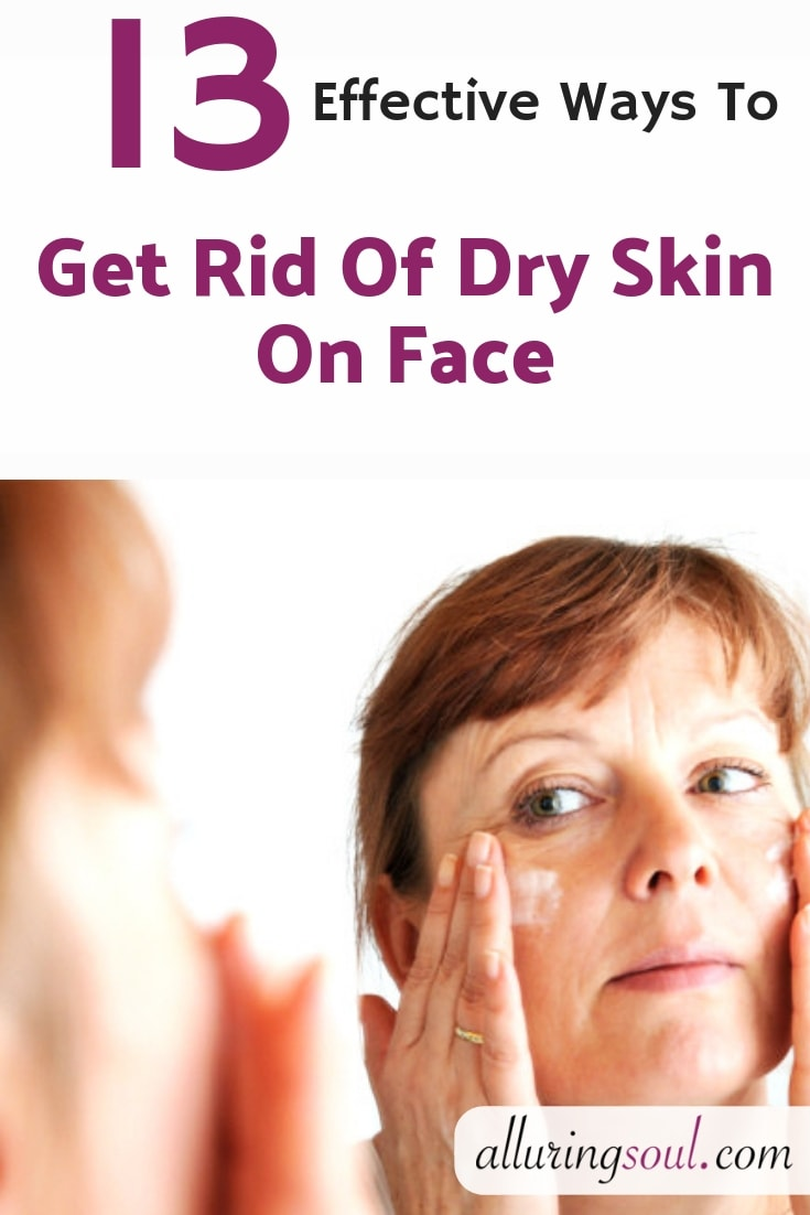 dry skin on face
