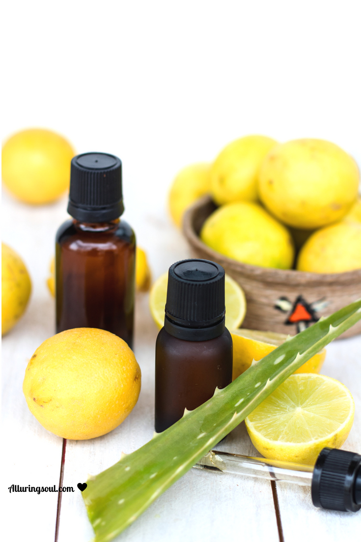 lemon essential oil for skin