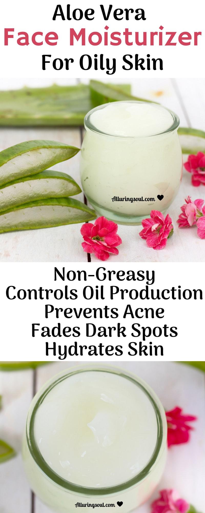 Aloe Vera Face Moisturizer For Oily Skin