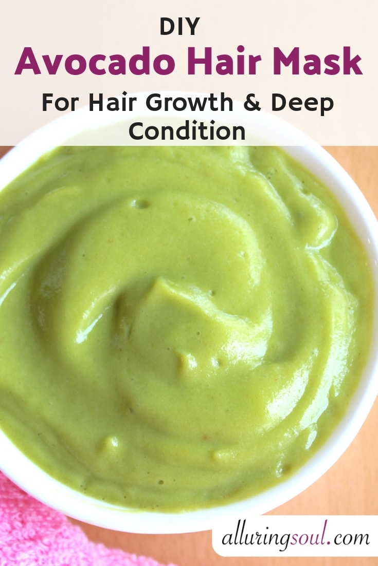Avocado Hair Mask For Hair Growth And Deep Condition-min