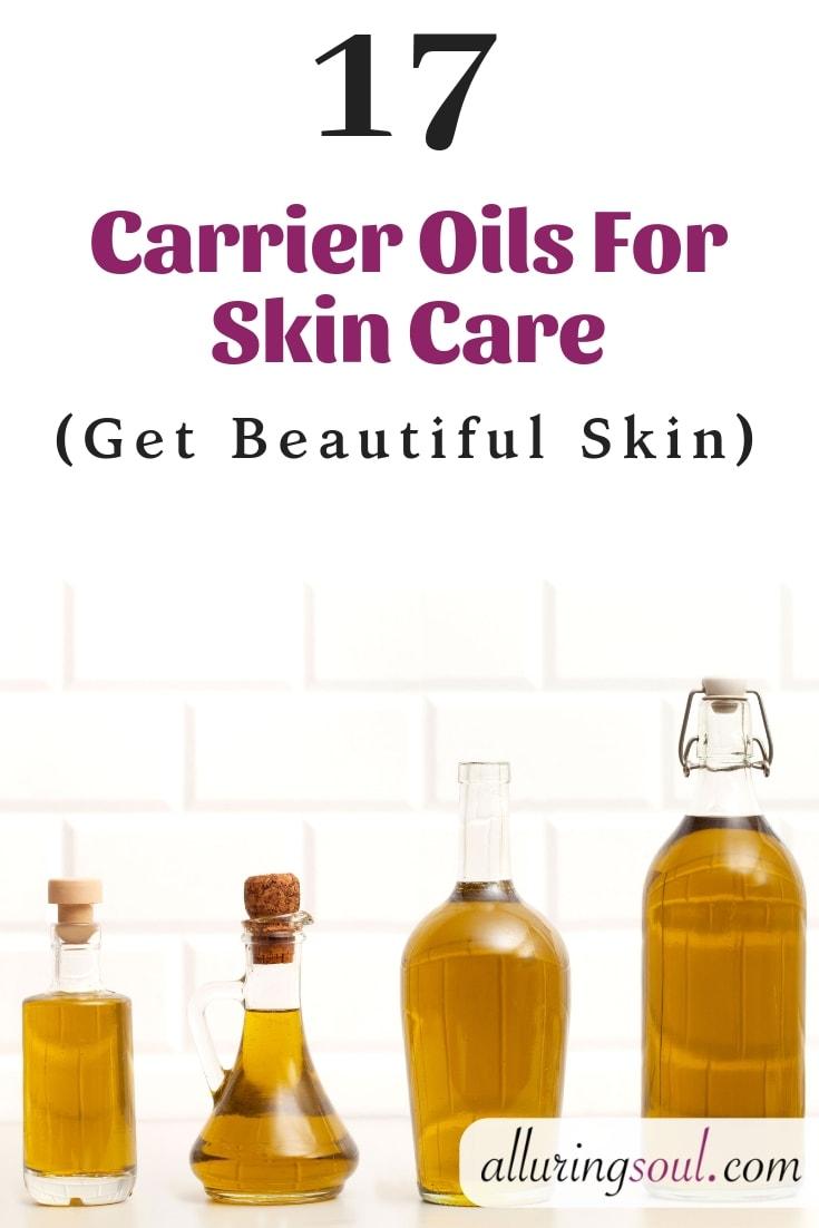 carrier oils for skin