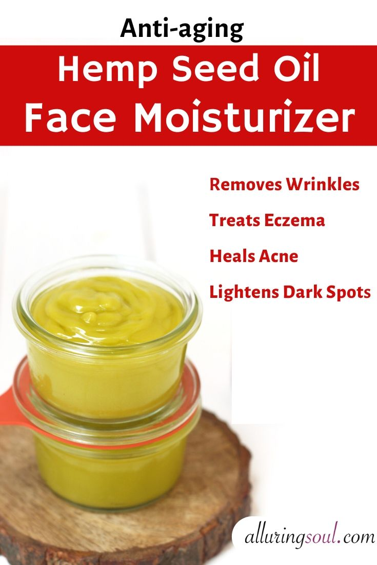 hemp seed oil face moisturizer