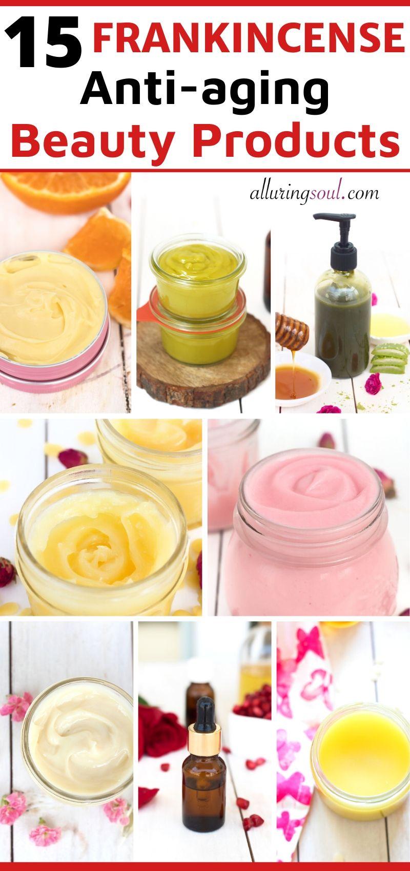 frankincense anti-aging skincare recipes