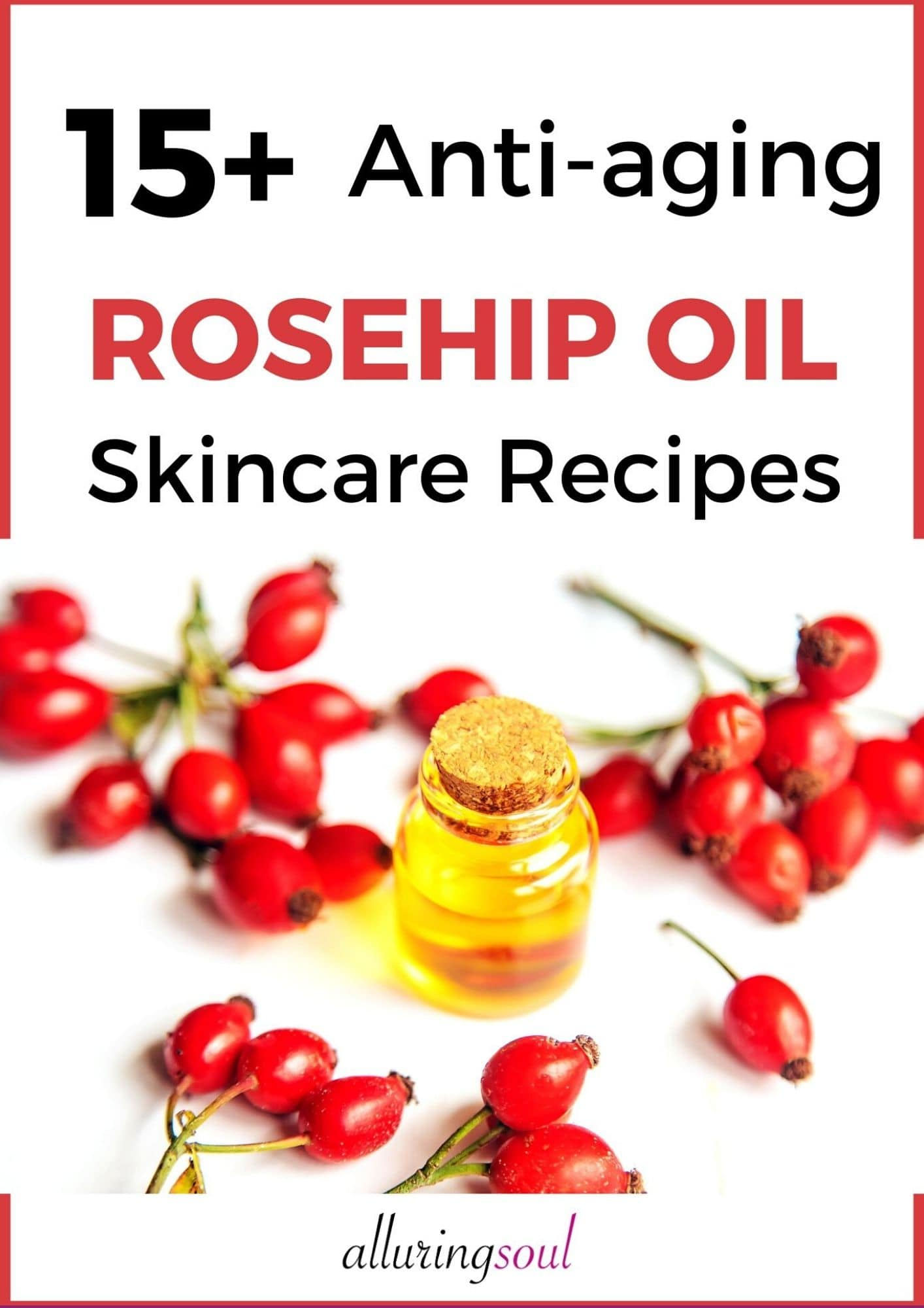 15+ Anti Aging Rosehip Oil Skincare Recipes