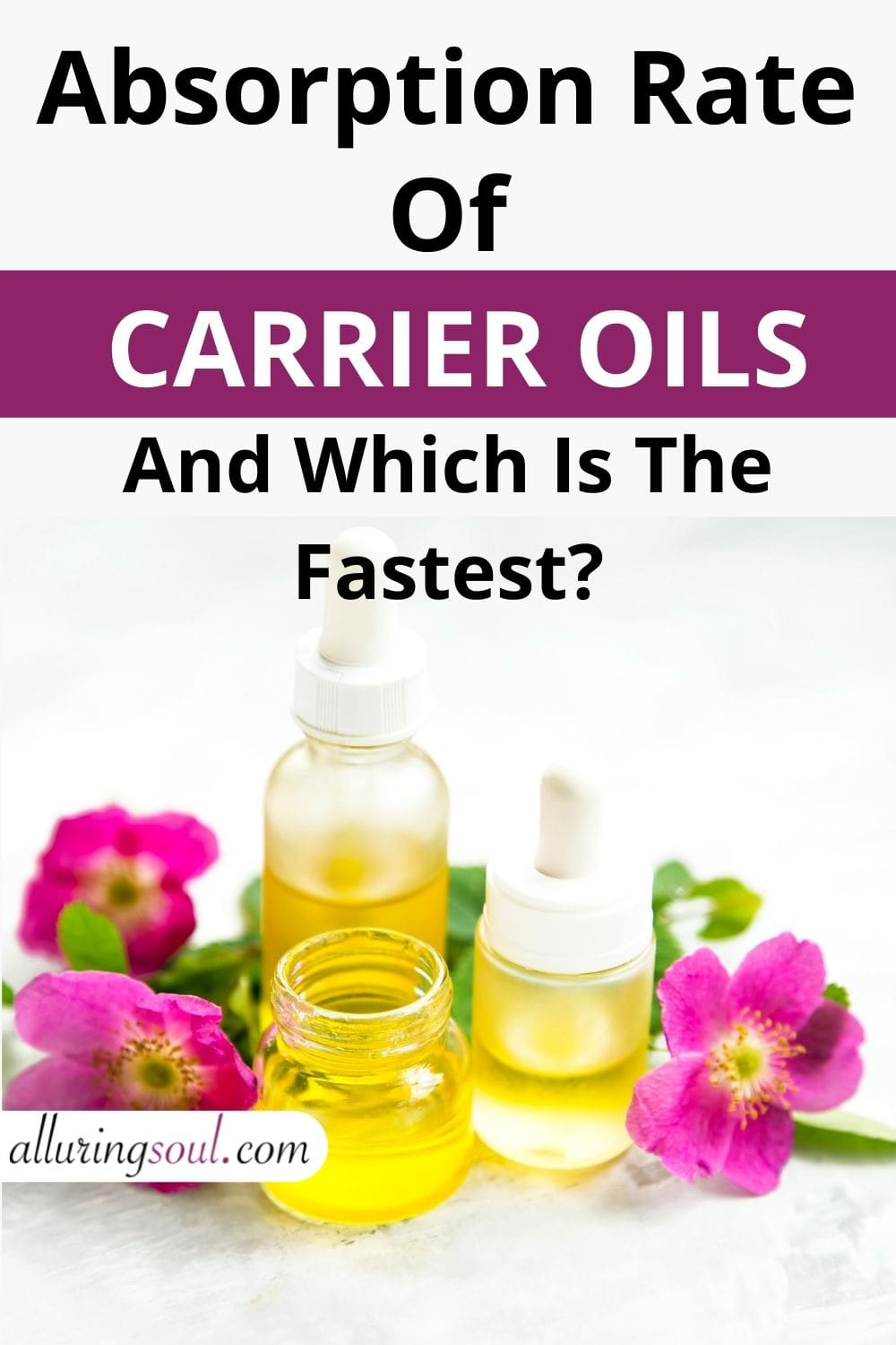 Absorption Rates Of Carrier Oils (And Which Is The Fastest?)